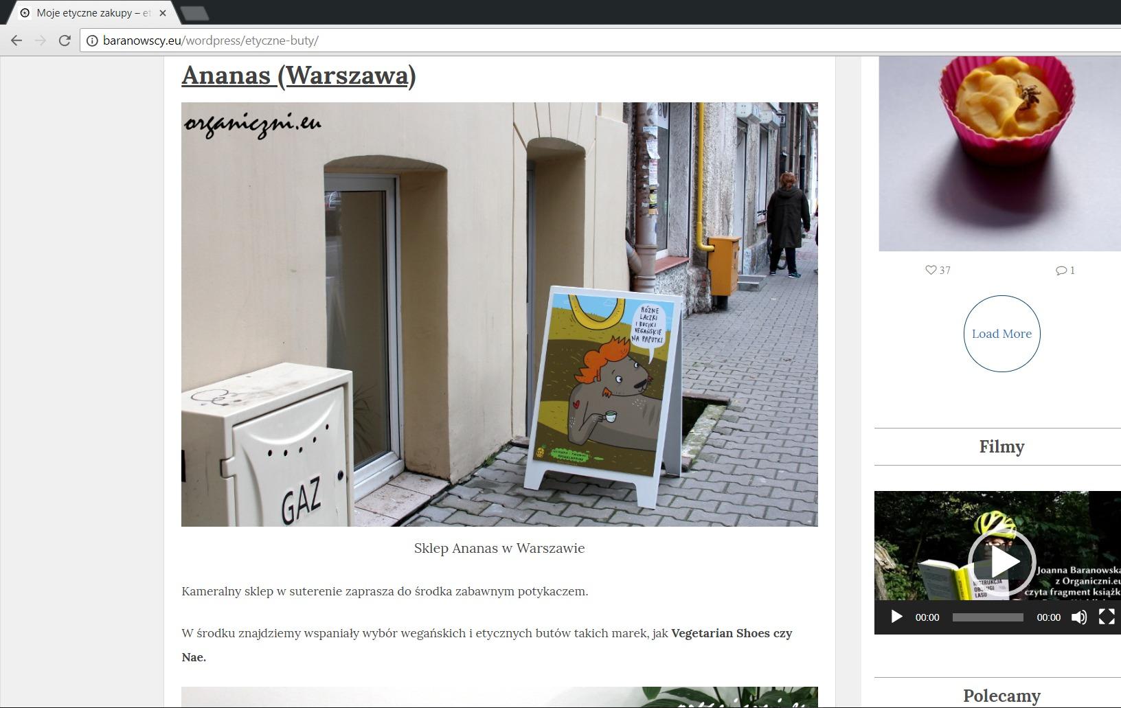 baranowscy.eu o ananaswarsaw.pl