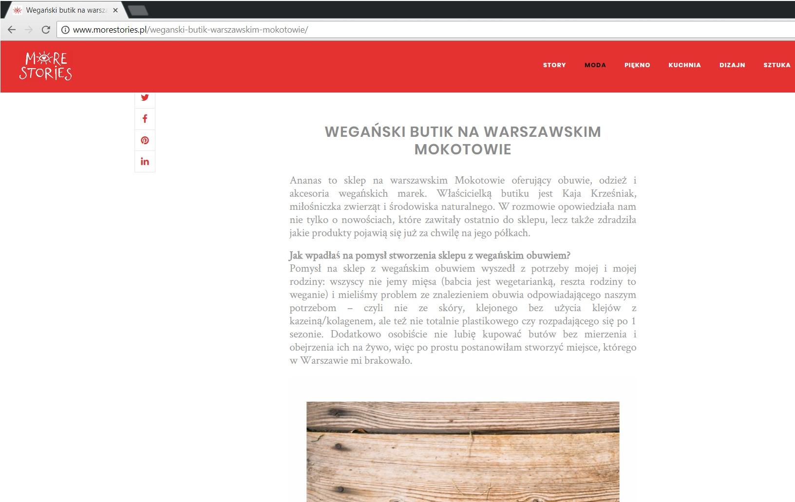 morestories.pl o ananaswarsaw.pl